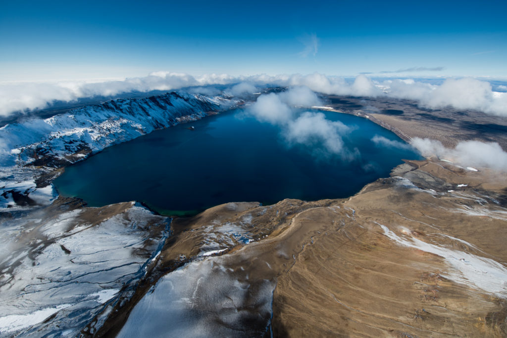 Askja Caldera - Volcano Heli - Icelandic Helicopter Tours